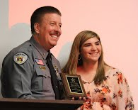 Sheriff David Carpenter and Cadet Emily Huss
